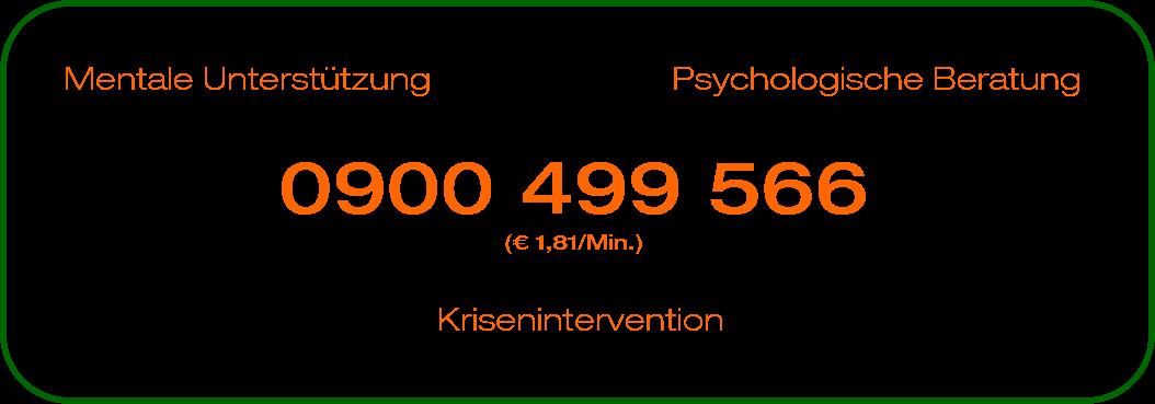 Psychosoziale Beratungshotline