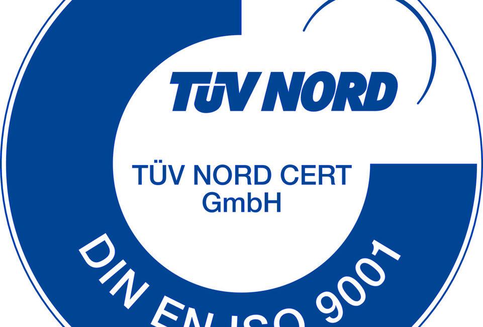 Zertifiziert nach ISO 9001 : 2015