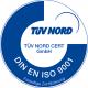 TÜV Nord DIN ISO Zertifizierung